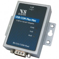 VScom USB-COM Plus Mini a single port USB-to-Serial adapter for RS232/422/485
