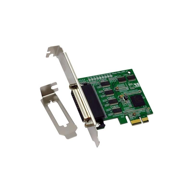 VScom 400E v4 PCIex a 4 Port RS232 PCI Express x1card 16C850 UART