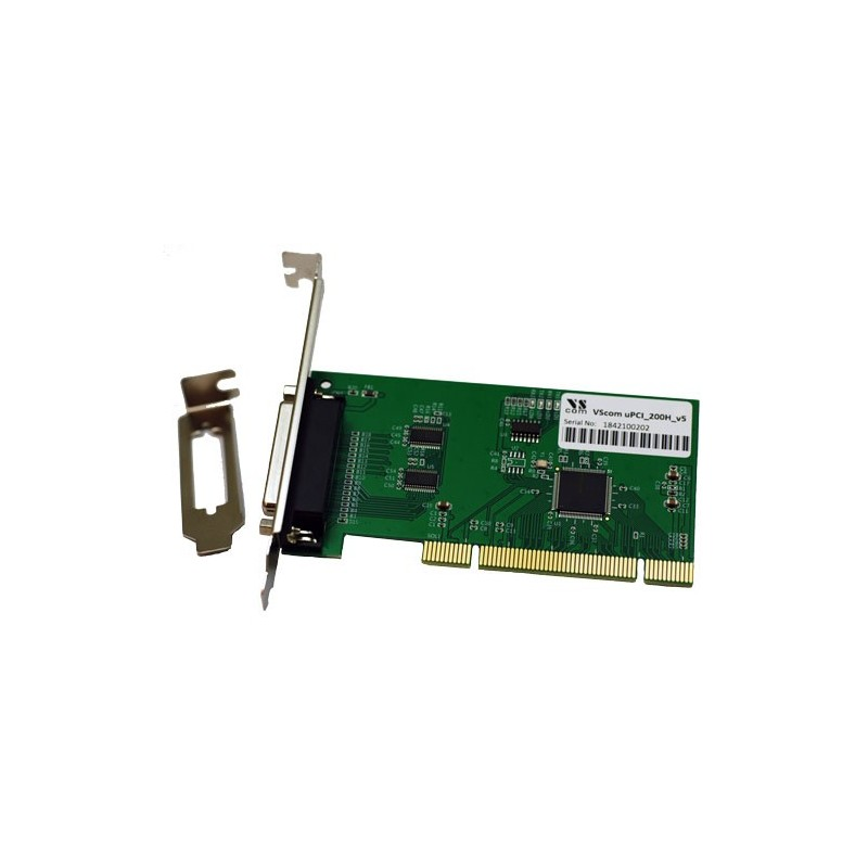 VScom 200H v4 UPCI a 2 Port RS232 PCI card 16C850 UART
