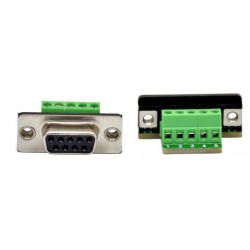 Adapter DSub-9 to Terminal Block