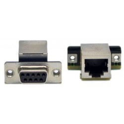 RJ45 Adapter Female Dsub-9