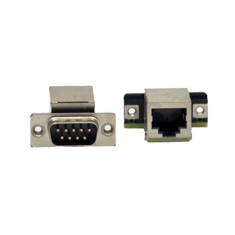 RJ45 Adapter Male Dsub-9