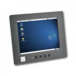 VS-860 RISC Panel PC with 8-inch resistive Touch supports Linux and Windows CE6