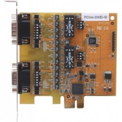 VScom 200Ei-Si PCIex a 2 Port RS232 RS422/485 PCI Express x1 card 16C950 UART